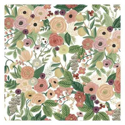 Garden Party Premium Peel and Stick Wallpaper - York Wallcoverings