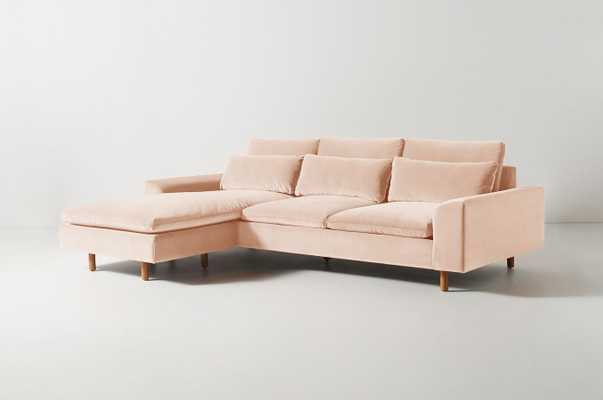 Mirren Reversible Chaise Sectional - Anthropologie