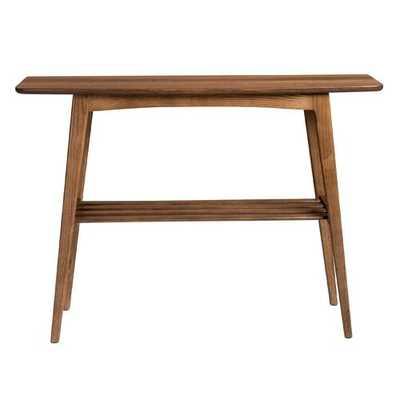 Bangor Console Table-walnut - Wayfair