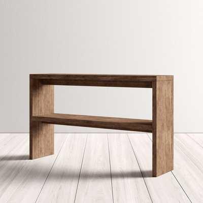"Norloti Mid-Century 2-Shelf 53"" W Console Table - AllModern"