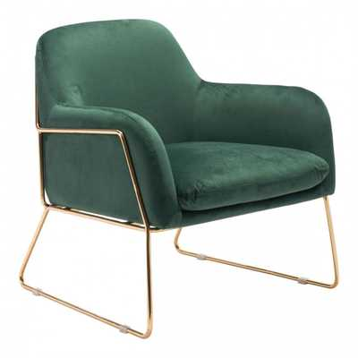 Lauryn Chair, Green - Studio Marcette