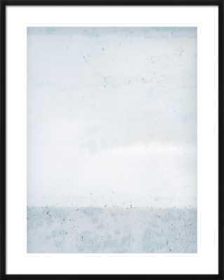 Overast - Soft Blues (Framed) - Artfully Walls