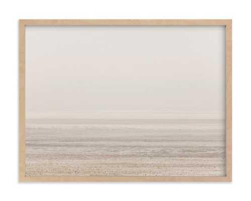 "Patagonian winter - 24"" x 18"" - Natural Frame - Minted"