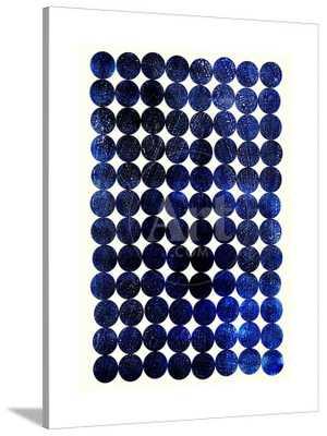 Unity Indigo by Garima Dhawan - CANVAS - art.com