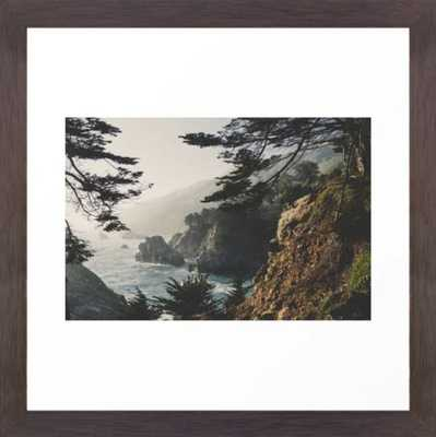 Big Sur Framed Art Print by Ryan Matthew - Society6