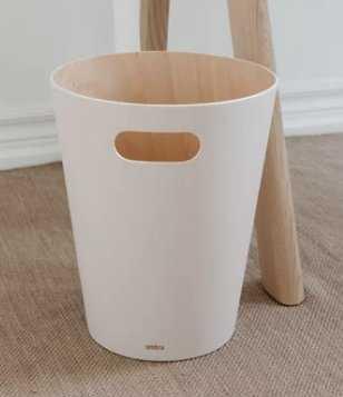 Woodrow 2.25 Gallon Trash Can, Natural - AllModern