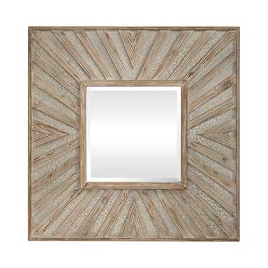 Gideon Square Mirror - Hudsonhill Foundry
