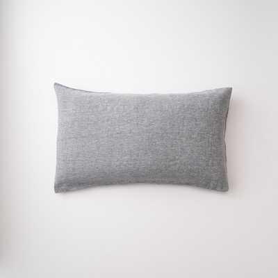 Gray Linen Pillow King Sham - Schoolhouse Electric