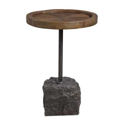 Horton Rustic Accent Table - Hudsonhill Foundry