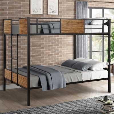 Kalista Twin Over Twin Bed - Wayfair