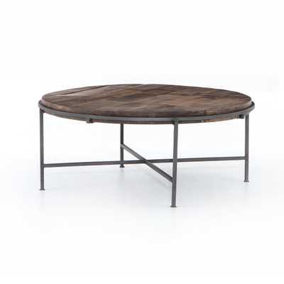 Simien Round Coffee Table - Burke Decor