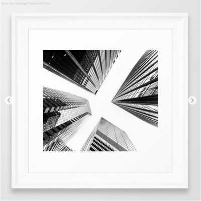 New York Buildings Framed Art Print - Society6