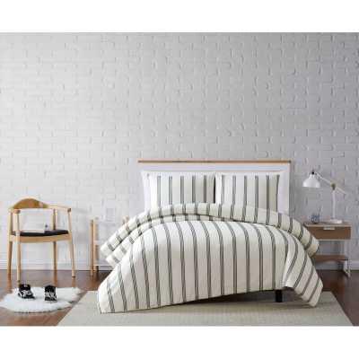 Millenial Stripe Duvet Cover Set - Wayfair