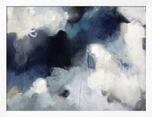 Blues By Kari Taylor / 40 x 30 in / Gramercy White Frame - art.com