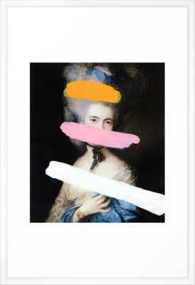 Brutalized Gainsborough 2 Framed Art Print - 26''x36'' - Society6