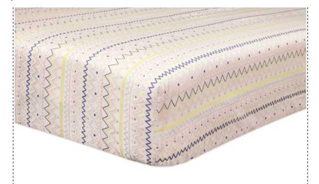 Babyletto Desert Dreams Mini Crib Sheet - Target