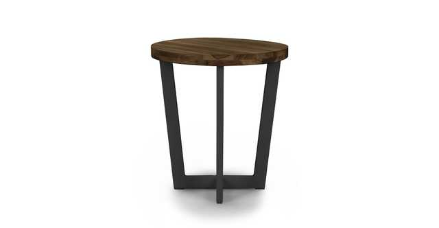 Toba Vintage Brown Side Table - Article