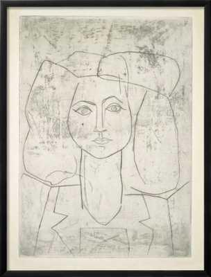 Portrait of Francoise - art.com