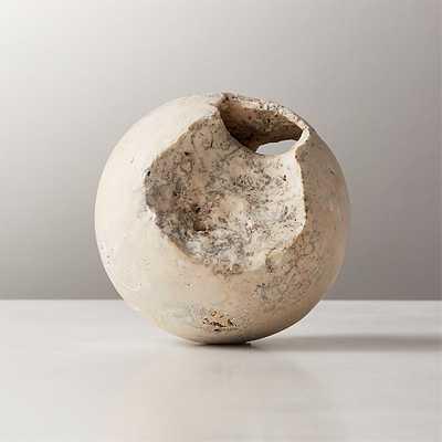 Limestone Sphere - CB2