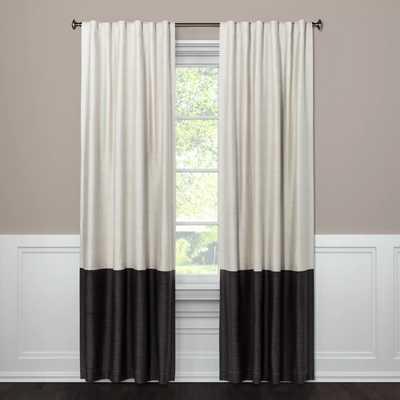 Blackout Color Block Curtain Panel - Project 62™ - Target