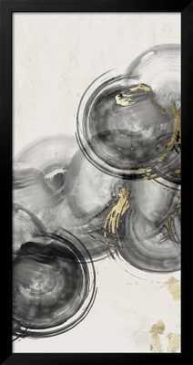 "Floating Together I - Gramercy Black -  36"" x 54"" -  No Mat - Acrylic: Clear - art.com"