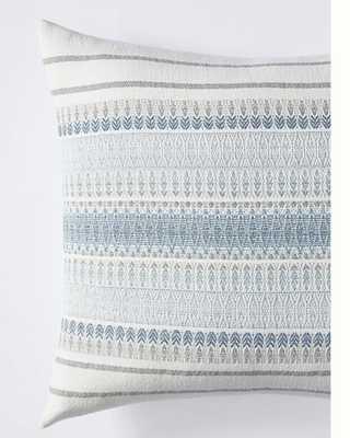 Coyuchi Lost Coast Organic Dec Pillow Cover Marine - Anthropologie