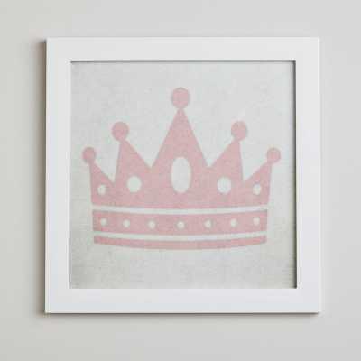 Sherborne Crown Princess in Pink Framed Art - Wayfair