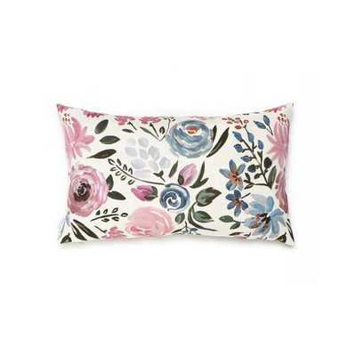ENGLISH GARDEN PILLOW -14x20- No Insert - Caitlin Wilson