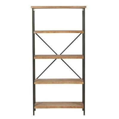 Parthenia Etagere Bookcase - Wayfair