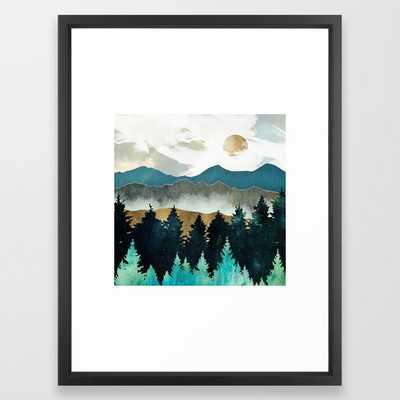 Forest Mist Framed Art Print - Society6