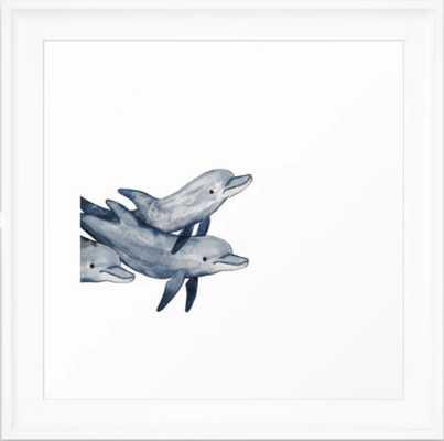 Bottlenose Framed Art Print - Society6
