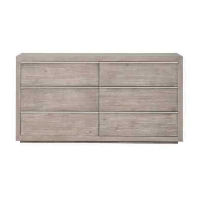 Oscoda 6 Drawer Double Dresser - Wayfair
