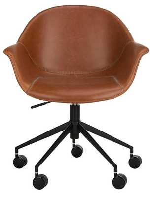 Ember Office Chair - Light Brown/Black - Arlo Home - Arlo Home