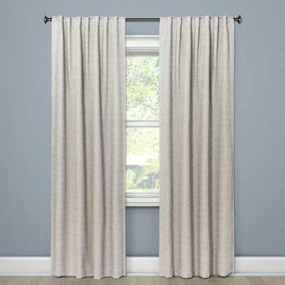 Doral Curtain Panel Cream - Project 62™ (single) - Target