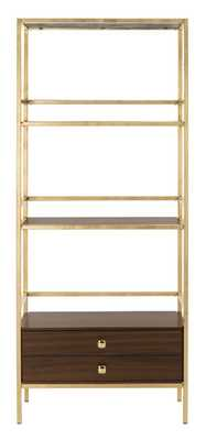 MATEO 4 TIER 1 DRAWER ETAGERE - Arlo Home