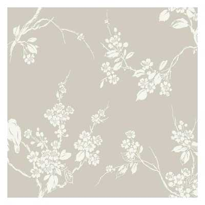 Imperial Blossoms Branch Sure Strip Wallpaper - York Wallcoverings