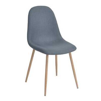 Charlton Vintage Upholstered Dining Chair - Set of 4 - Wayfair