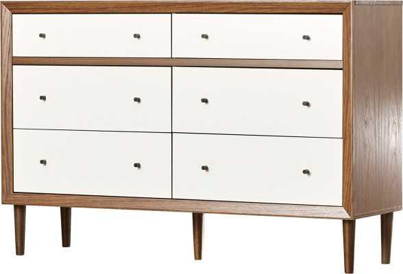 Sunset 6 Drawer Double Dresser - AllModern