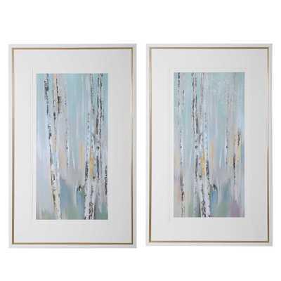 Pandora's Forest Abstract Art, S/2 - Hudsonhill Foundry