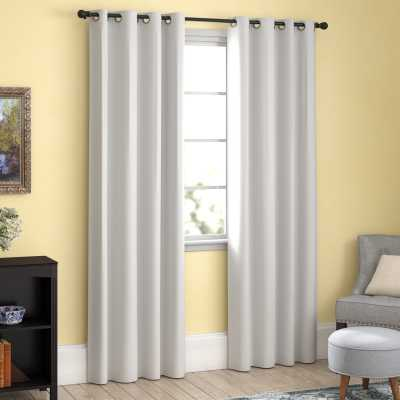 Hosler Insulated Lined Solid Blackout Thermal Grommet Curtain Panels (Set of 2) - Wayfair