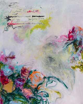 Abstract Flowers by Davina Shefet for Artfully Walls - Artfully Walls