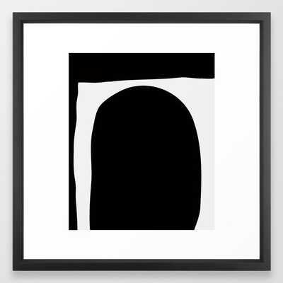 Art In Art Portrait Framed Art Print - Society6