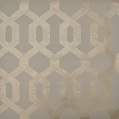 "Mid Century 33' L x 21"" W Metallic/Foiled Wallpaper Roll - Wayfair"
