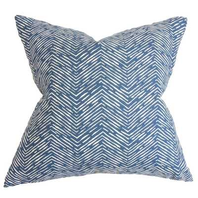 Edythe Zigzag Pillow - 20x20 - Cover Only - Linen & Seam