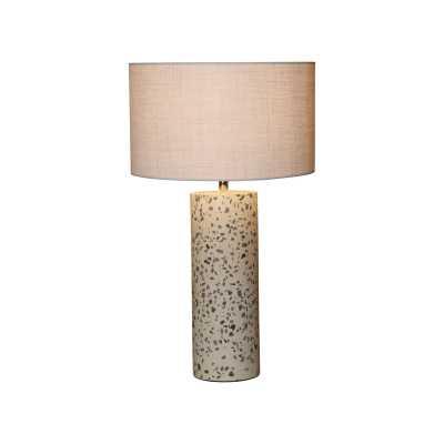 "Lagunitas Stone Inlay Concrete 20"" Table Lamp - Wayfair"