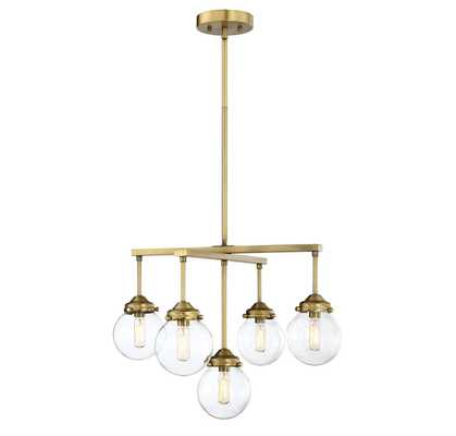 Suffield 5-Light Shaded Classic/Traditional Chandelier - AllModern