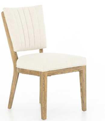 Kitty Dining Chair, Ivory - Lulu and Georgia