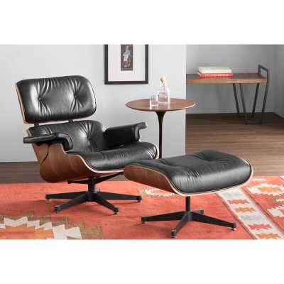 Talley Swivel Lounge Chair and Ottoman - AllModern