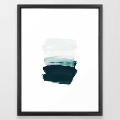 brushstrokes 13, Vector Black, 20 X 26 - Society6