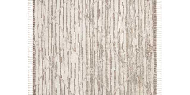 KF-07 IVORY / TAUPE, rug - Loma Threads